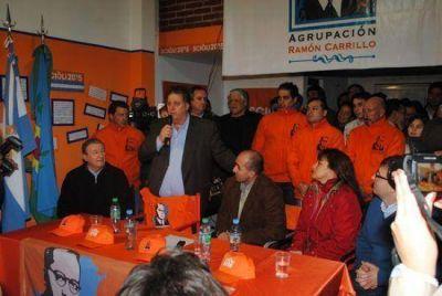 Miramar: Collia acompa�� a Javier Pereyro en la presentaci�n de la lista 4