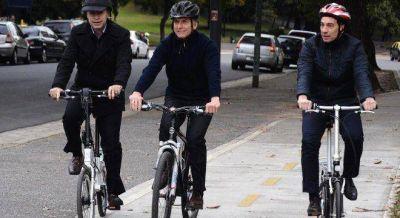 Macri cerró la campaña de Larreta en bici