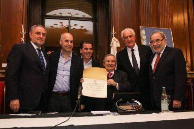 Larreta y Ritondo reconocieron al Congreso Judío Latinoamericano