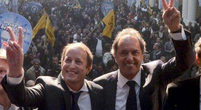 Baño de humildad: Scioli le liberó la competencia interna a Insaurralde