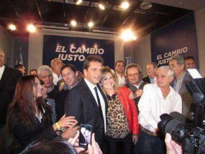 Massa presentó en Pergamino a los precandidatos de la Segunda Sección electoral