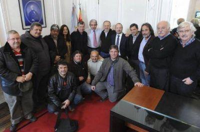 An�bal y Sabbatella se reunieron con la dirigencia de la CTA