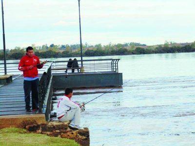 El río Uruguay y la crecida en las costas de Concordia