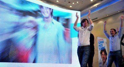 Eufórico, Lousteau festejó como si hubiese ganado y ahora apunta al 2019