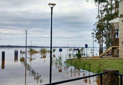 Alertan por la inminente crecida del río Uruguay
