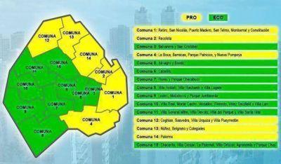 El PRO perdió en 9 de las 15 comunas porteñas