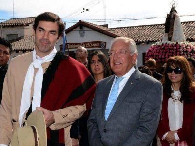 """Fellner y Urtubey en la """"Octava"""" de El Carmen"""