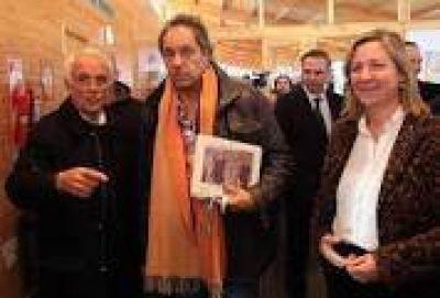 """María Eugenia Martini """"es mi candidata"""" dijo Scioli durante su visita a Bariloche"""