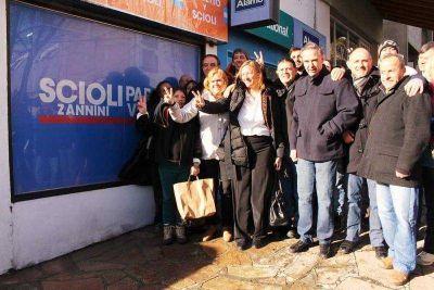 Pichetto, Doñate y Martini inauguraron local de campaña de Scioli Presidente en Bariloche