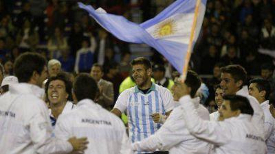 Argentina venció a Serbia y avanzó a las semifinales de la Copa Davis