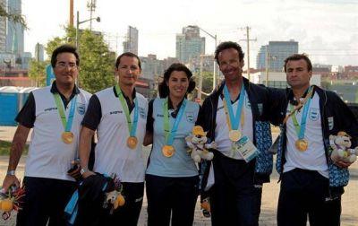 Más alegrías: la Argentina sumó medallas en yachting, canoaje slalom y taekwondo