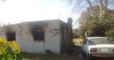 Muere una mujer y sus dos nietos tras un voraz incendio