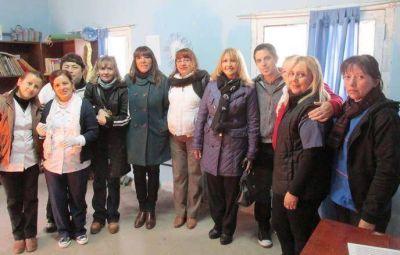 Operativo de vacunaci�n de Naci�n con el Ministerio de Salud de la Provincia