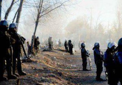 La Policía desalojó la toma El Chacay