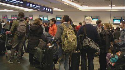 Aerol�neas: hoy no saldr�n 16 vuelos de Aeroparque
