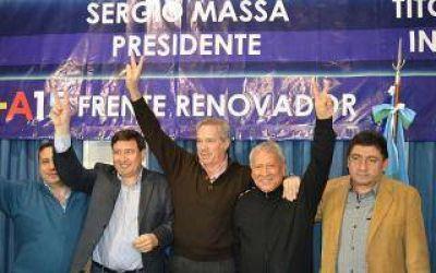 Berazategui: Acompañado por Solá, Geneiro presentó a sus candidatos