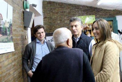 Mercuri recibió a Macri y a Vidal en Lomas de Zamora