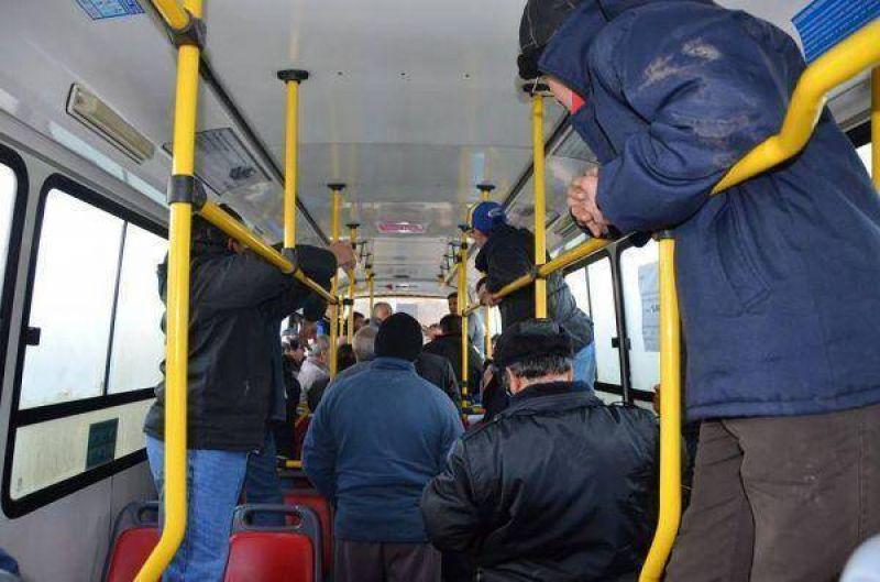 La UTA quitó los colectivos de la vía pública