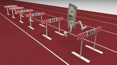 Nuevo récord para el dólar libre en el año: salta 30 centavos y se vende a $14,85