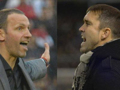 Bernardi y Coudet vivirán por primera vez el partido de la ciudad en sus nuevos roles