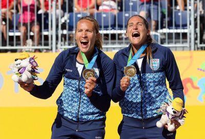 Voley playero: oro para las argentinas Gallay - Klug