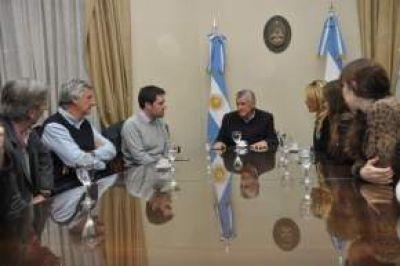 Nueva obra en Rawson: El Intendente Gioja y funcionario nacional informaron al Gobernador