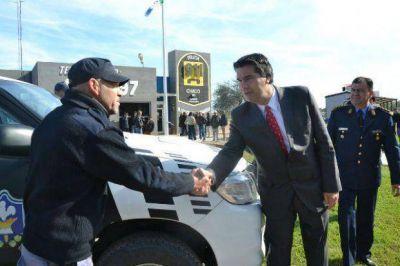 Capitanich entregó 14 nuevos patrulleros para fortalecer sistema de seguridad pública