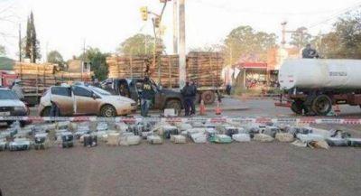 Dos mil kilos de droga en camión atmosférico