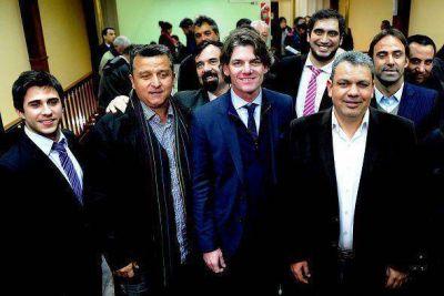 Nicol�s Scioli se reuni� con comerciantes y empresarios