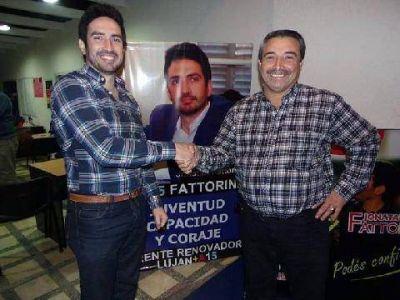 Fattorini sumó los apoyos de Rafael Reynoso y Claudio Nazar