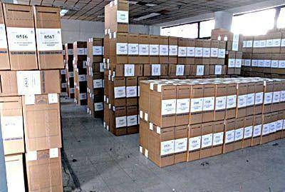 Llegaron las 1.587 urnas que se usarán en General Pueyrredon