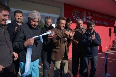 Pulti inauguró el Centro de Salud El Boquerón en el Km 23 de la Ruta 88