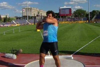 Germán Lauro obtuvo la medalla de bronce en lanzamiento de bala; José Domínguez, plata en esgrima