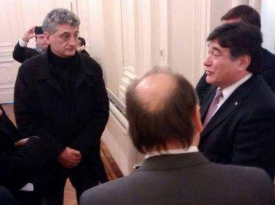 El intendente Barrera se reunió con Carlos Zannini