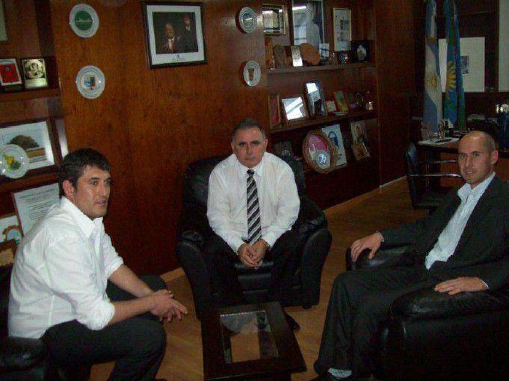 Por gestiones de Nacho Barraza se inaugurará el Servicio de Red de Agua en Sevigne