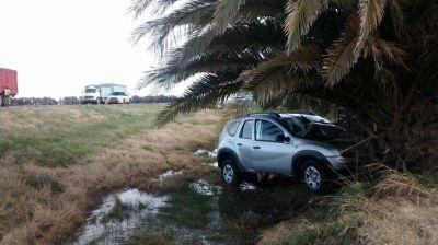 Una bahiense murió en un choque de 2 camionetas cerca de Tres Arroyos