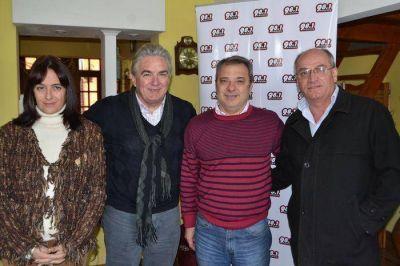 Dirigentes del Frente Progresista brindaron su apoyo a Sergio Bordoni