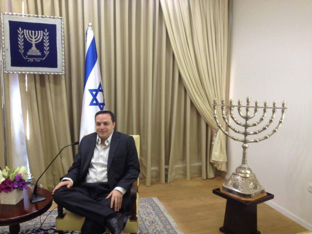 """Ariel Cohen Sabban: """"Voy a estar a disposición de la comunidad judía para lo que se me requiera"""""""
