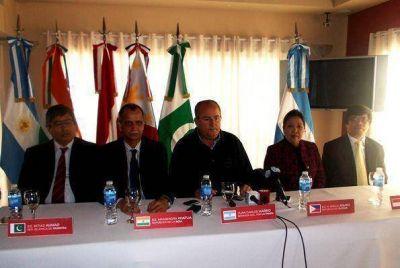 Con promesas de negocios, embajadores cerraron visita a La Pampa