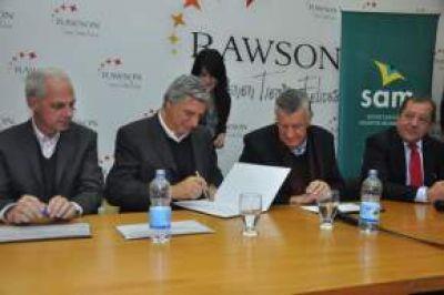 Realizaron la apertura de sobres para la construcción de la obra Semipeatonalización del Centro Comercial de Rawson