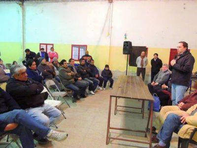 Apoyo de Dalmacio Mera al deporte chacarero