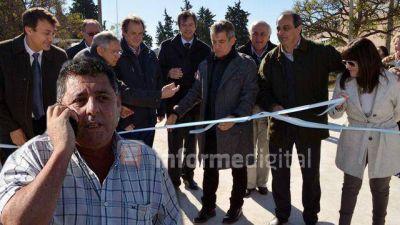Urribarri acusó a De Angeli de utilizar políticamente el conflicto del campo