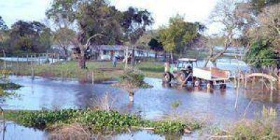 Clorinda comenzó el plan para relocalizar a familias por la nueva crecida del Pilcomayo