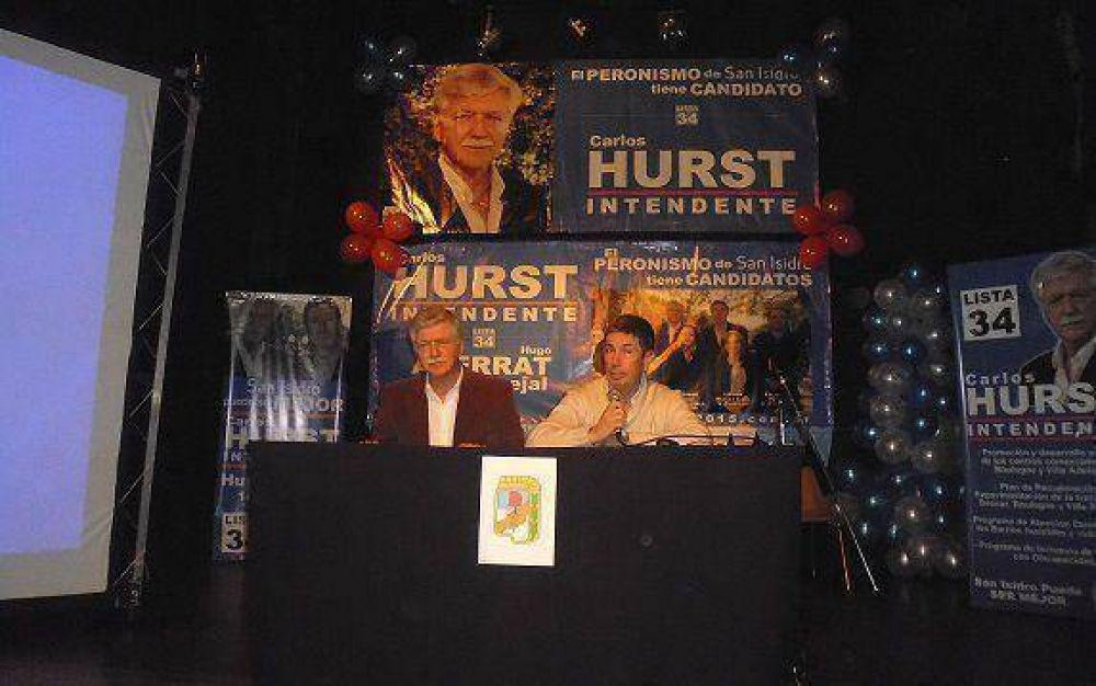 Carlos Hurst lanzó su campaña
