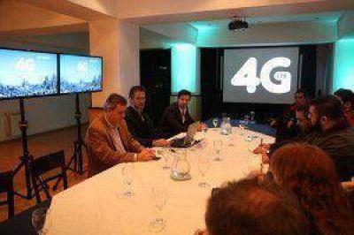 Telefónica – Movistar presentó la red 4G en Tierra del Fuego