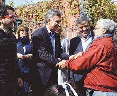 Mauricio Macri visitó Tucumán y apoyó a Cano