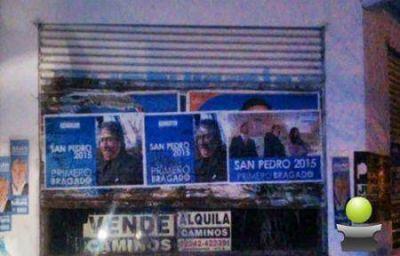 LOS CARTELES Y AFICHES DE LOS PRE CANDIDATOS MOSTRARON EL LADO MENOS AGRADABLE DE LA POLITICA