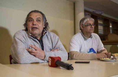 Rogelio Martínez presentó su lista en compañía de representantes de Adolfo Rodríguez Saa