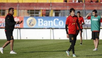Boca Unidos: Sin dar nombres el DT tendr�a los once para jugar con Guaran�