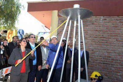 Los vecinos de Parque Am�rica ya tienen gas natural